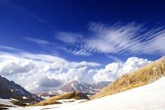 Mountain pass Royalty Free Stock Image