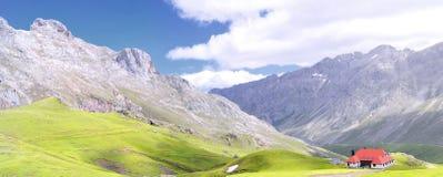 Mountain pass of Aliva. Royalty Free Stock Photos