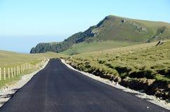 Mountain pass asphalt Royalty Free Stock Photo