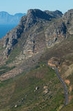 Mountain Pass Cape Town Royalty Free Stock Photos