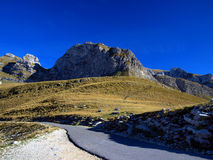 Mountain pass in the Durmitor National Park Royalty Free Stock Photo