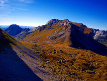 Mountain pass in the Durmitor National Park Royalty Free Stock Image