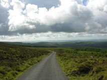 Mountain pass through the Galtee's Royalty Free Stock Images