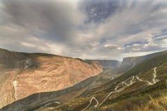 Mountain pass Katu-Yaryk, Altai Royalty Free Stock Photo