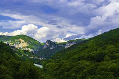 Mountain Pass Landscape. royalty free stock photos
