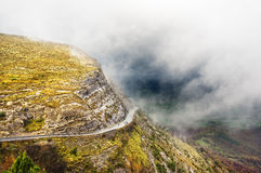 Mountain pass road Royalty Free Stock Photography