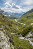 Mountain pass Stock Images