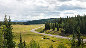 Mountain Pass Road in Colorado Royalty Free Stock Image