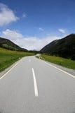 Mountain pass road Stock Photos