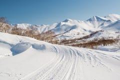 Mountain pass Stock Image