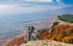 Mountain pasture Demerdzhi, Crimean peninsula Stock Photography