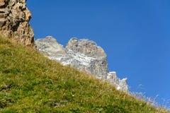Mountain pastures Stock Image