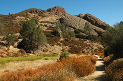 Mountain Path. Pinnacles National Monument, Calif stock image