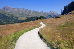 Mountain path Royalty Free Stock Photos