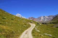 Mountain path Royalty Free Stock Photography