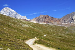 Mountain path Stock Images