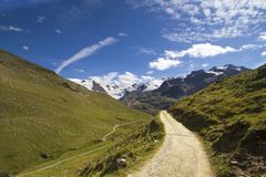 Mountain path Stock Photo