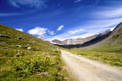 Mountain path Royalty Free Stock Images