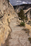 Mountain path. Path leading to the top of the mountain Stock Photography