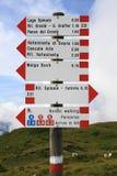 A mountain path Stock Photo