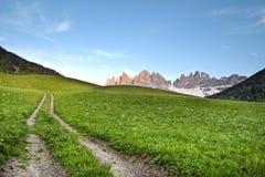 Mountain path Royalty Free Stock Photo