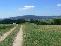 Mountain path. Mountain landscape royalty free stock photo