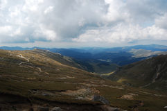Mountain path In Bucegi Mountains Stock Images
