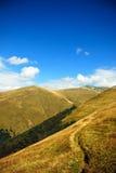 Mountain path landscape Royalty Free Stock Photo