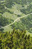 Mountain path in National park Mala Fatra Stock Image