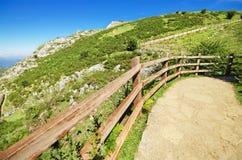 Mountain path in Picos de Europa, Spain. Royalty Free Stock Photography