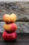 Mountain peaches Royalty Free Stock Image