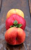Mountain peaches Royalty Free Stock Photos