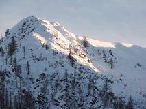Mountain peak Royalty Free Stock Images