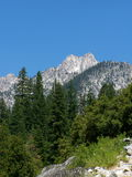 Mountain Peak. Sawtooth Mountain, Trinity Alps Wilderness Royalty Free Stock Photos