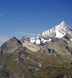 Mountain peak. Sharp peak of the Alps Royalty Free Stock Photography