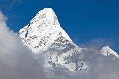 Mountain peak, Ama Dablam Stock Images