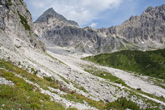 Mountain peak in Austria Stock Image