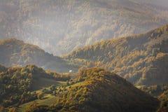 Mountain Peak in Autumn Afternoon Light Royalty Free Stock Image