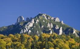 Mountain peak in autumn Royalty Free Stock Image
