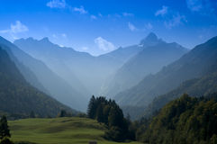 Mountain Peak in Bavaria stock photo