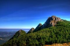 Mountain peak. Beautiful and dangerous mountain peak Royalty Free Stock Photography