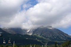 Mountain peak. Beautiful and dangerous mountain peak Royalty Free Stock Photos