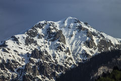 Mountain peak Stock Image