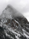 Mountain Peak in Cloud Stock Images