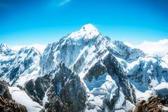 Mountain peak. Everest. National Park, Nepal. Stock Image
