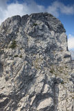 A mountain peak. In Germany Stock Photos