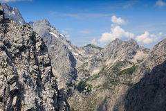 A mountain peak. In Germany Stock Photo
