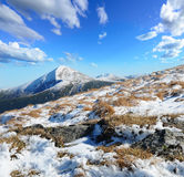 Mountain peak Goverla Stock Photography