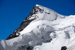 Mountain peak - Jungfraujoch, Switzerland Stock Images