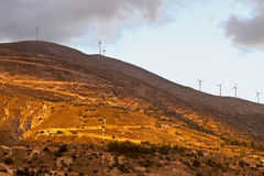 Mountain peak at Kefalonia island. Of Greece Royalty Free Stock Photography